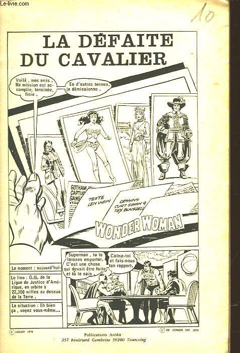 HERCULE - N°10 - LA DEFAITE DU CAVALIER
