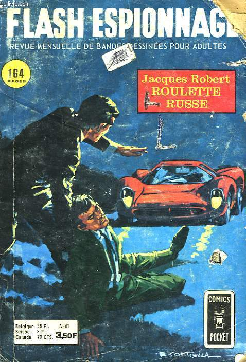 FLASH ESPIONNAGE - 61 - ROULETTE RUSSE