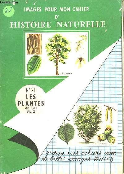 IMAGES POUR MON CAHIER D'HISTOIRE NATURELLE - N°21 - LES PLANTES