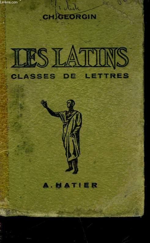LES LATINS PAGES PRINCIPALES DES AUTEURS DU PROGRAMME - CLASSE DE LETTRES