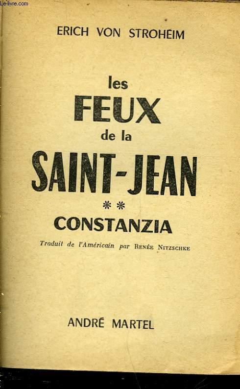 LES FEUX DE LA SAINT-JEAN - TOME 2 - CONSTANZIA