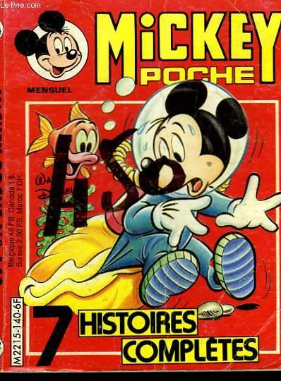 MICKEY POCHE N°140