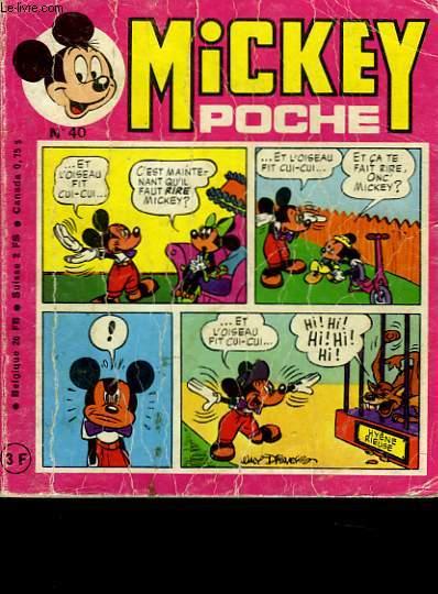 MICKEY POCHE N�40
