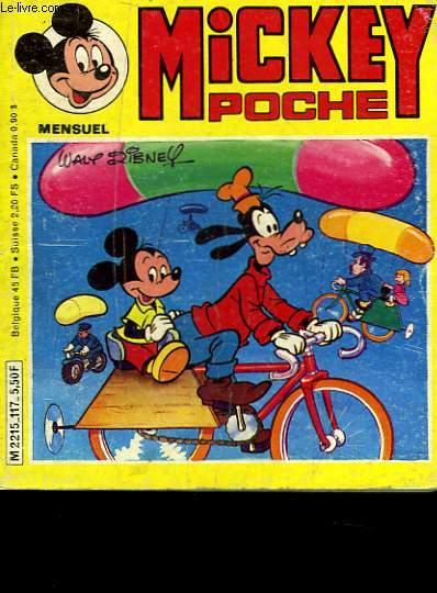 MICKEY POCHE N°117
