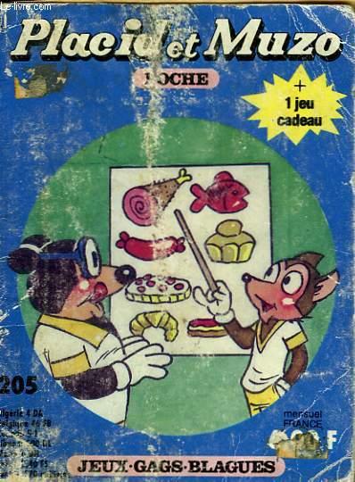 PLACID ET MUZO POCHE N°205