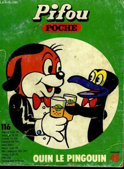 PIFOU POCHE N°116