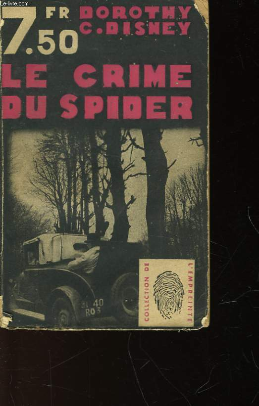 LE CRIME DU SPIDER - DEATH IN THE SEAT