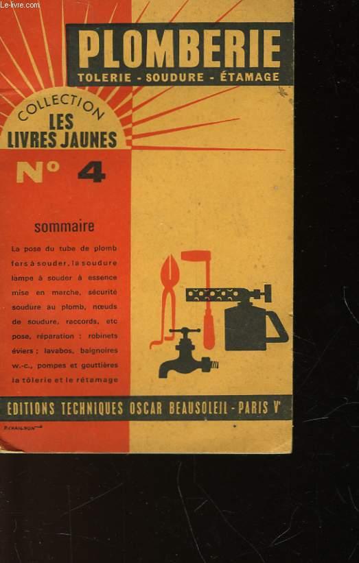 PLOMBERIE-SOUDURE - TOLERIE-ETAMGE - N°4