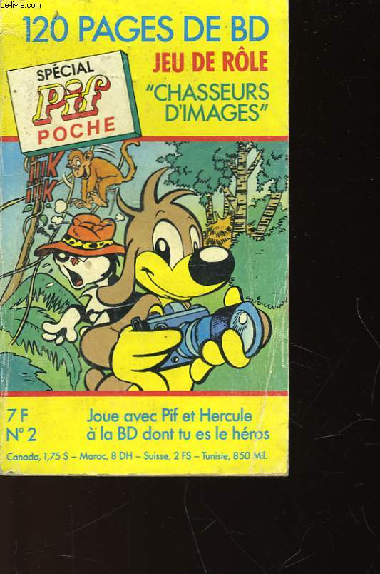 SPECIAL PIF POCHE - N°2 - CHASSEURS D'IMAGES