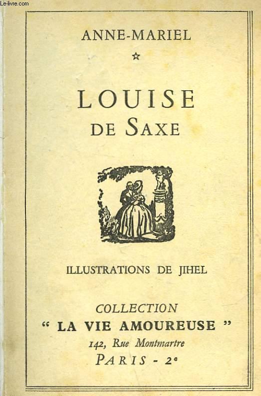 LOUISE DE SAXE