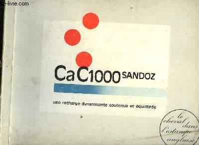 CA C1000 SANDOZ - LE CHEVAL DANS L'ESTAMPE ANGLAISE