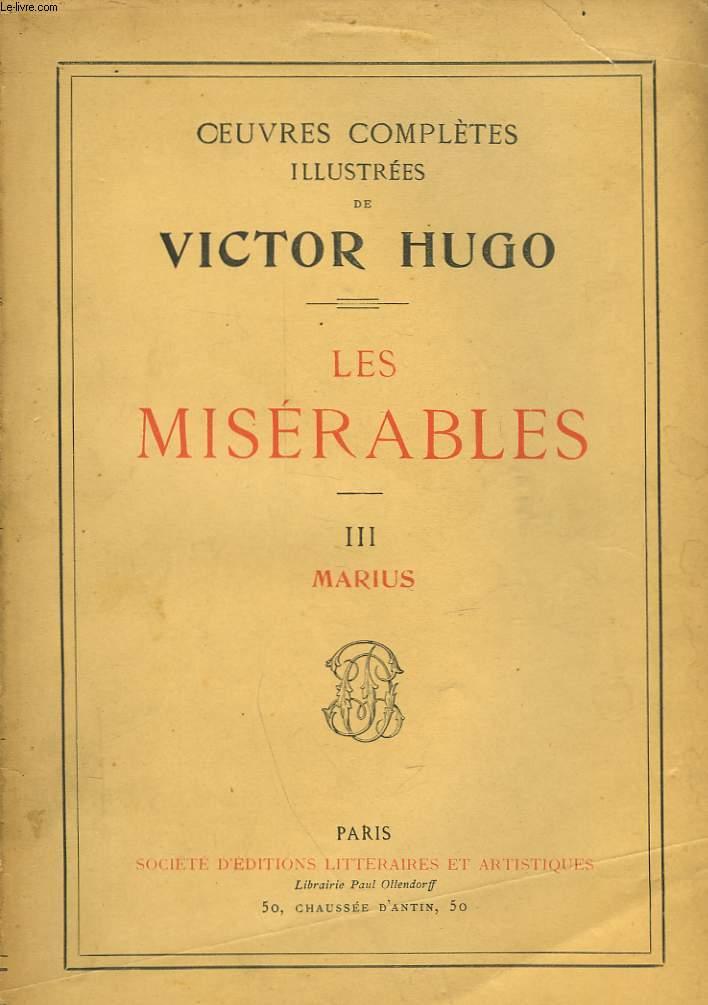 LES MISERABLES - III - MARIUS