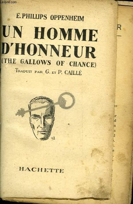 UN HOMME D'HONNEUR - THE GALLOWS OF CHANCE