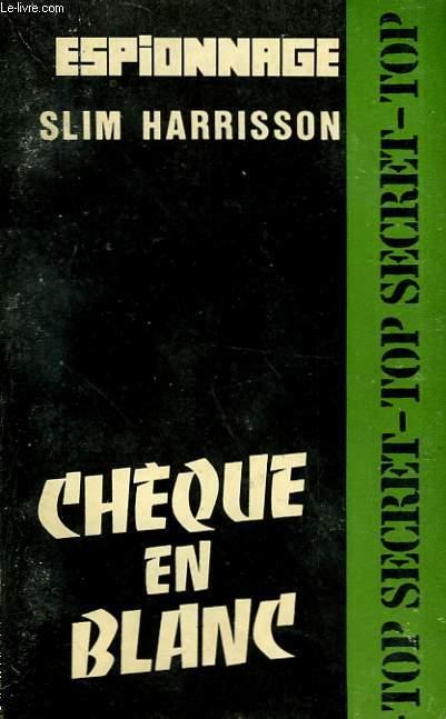 CHEQUE EN BLANC - N°197