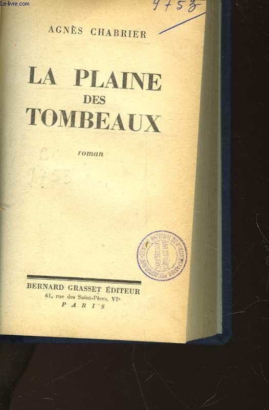 LA PLAINE DES TOMBEAUX