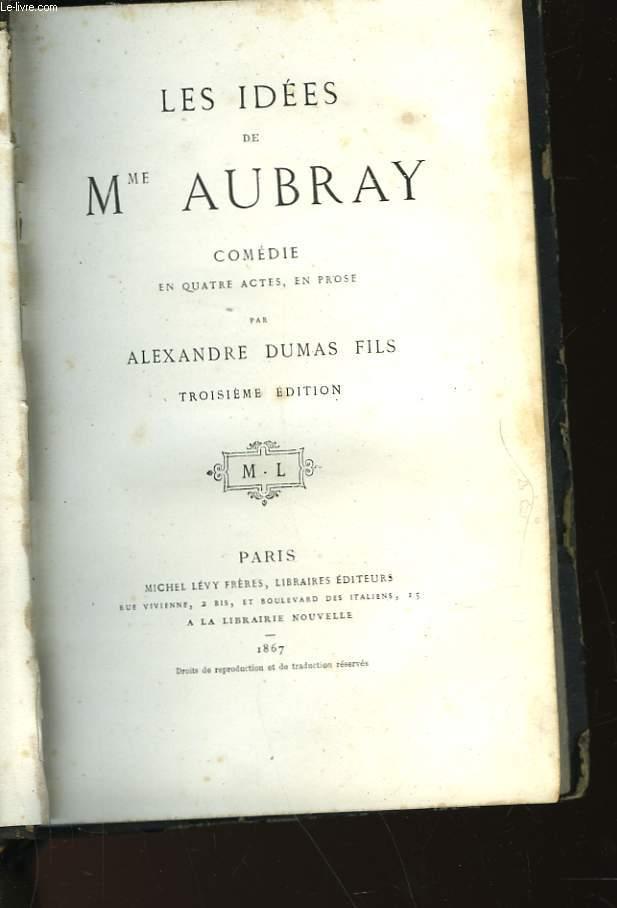 LES IDEES DE MME AUBRAY