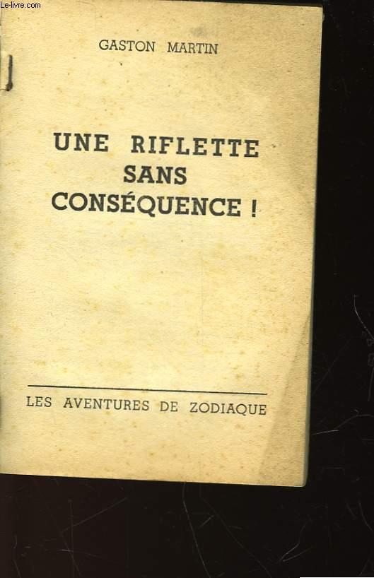 UNE RIFLETTE SANS CONSEQUENCE! - N°71