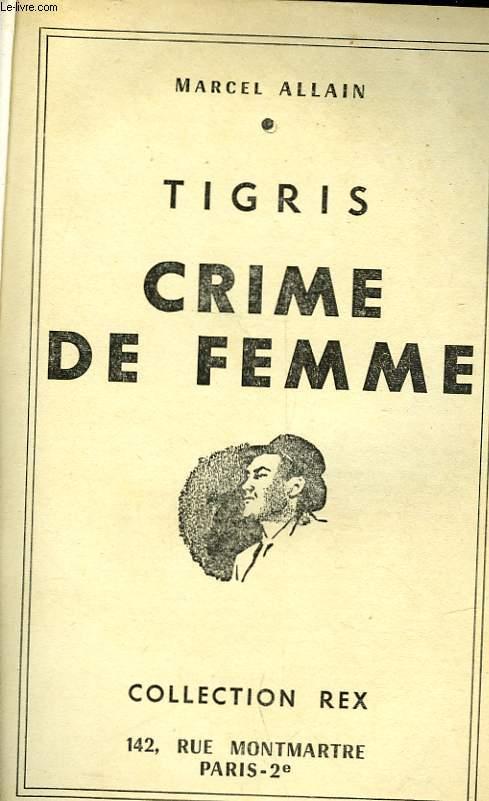 TIGIRS - CRIME DE FEMME