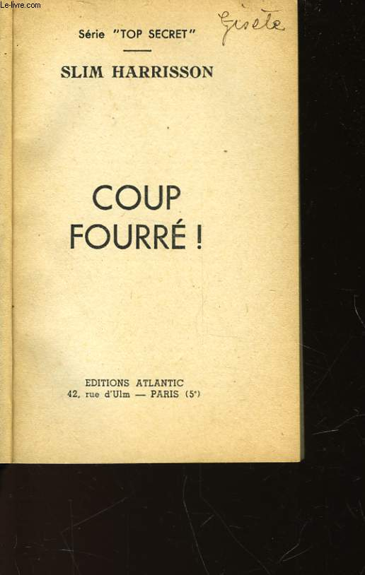 COUP FOURRE! - N°177