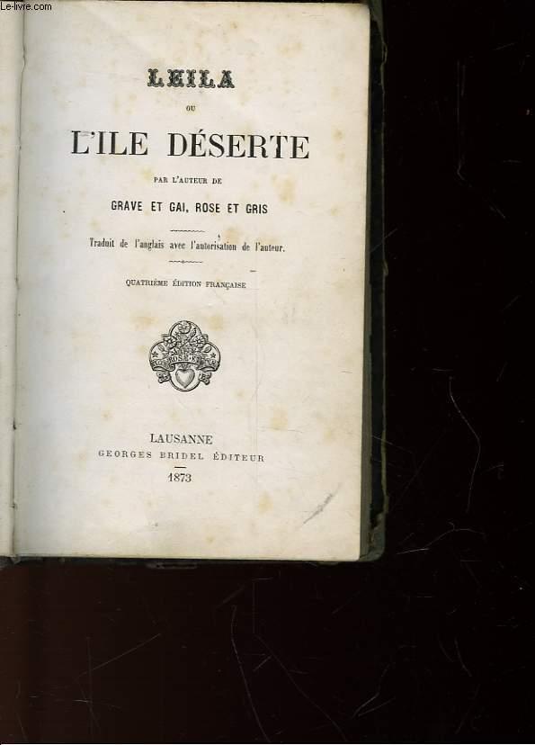 LEILA - OU L'ILE DESERTE
