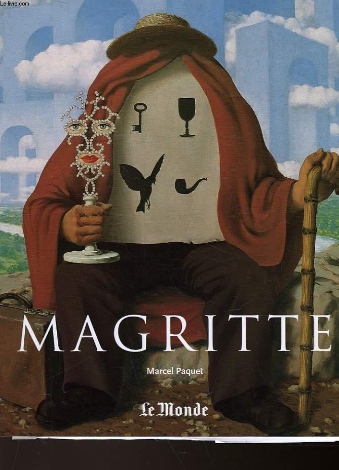 RENE MAGRITTE 1898 - 1967  - LA PENSEE VISIBLE