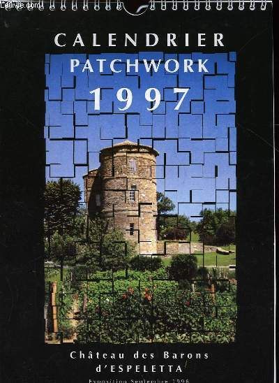CALENDRIER PATCHWORK 1997