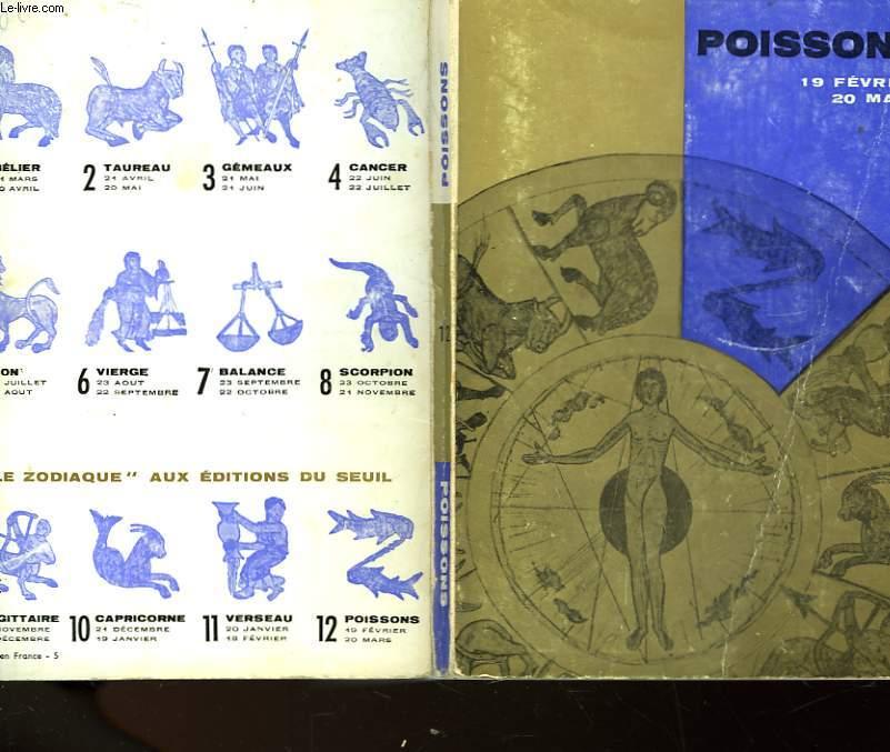 POISSONS - 19 FEVRIER 20 MARS