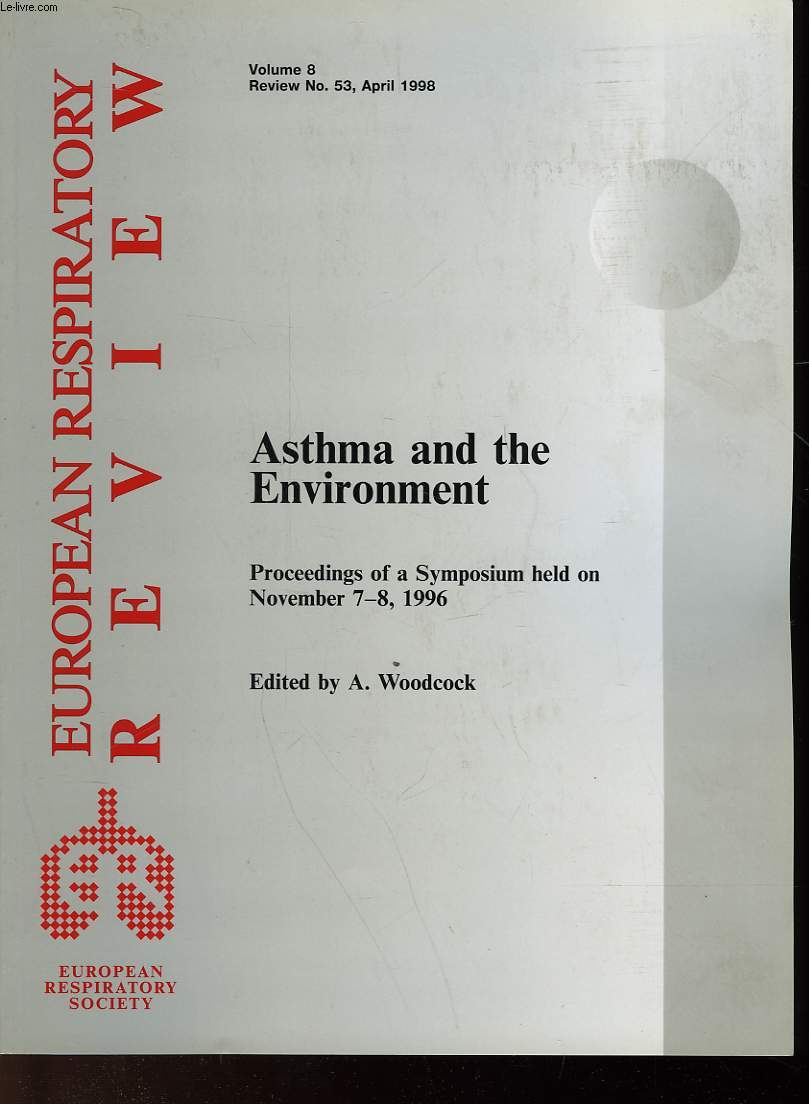 ASTHMA AND THE ENVIRONMENT - VOLUME 8 - n°53