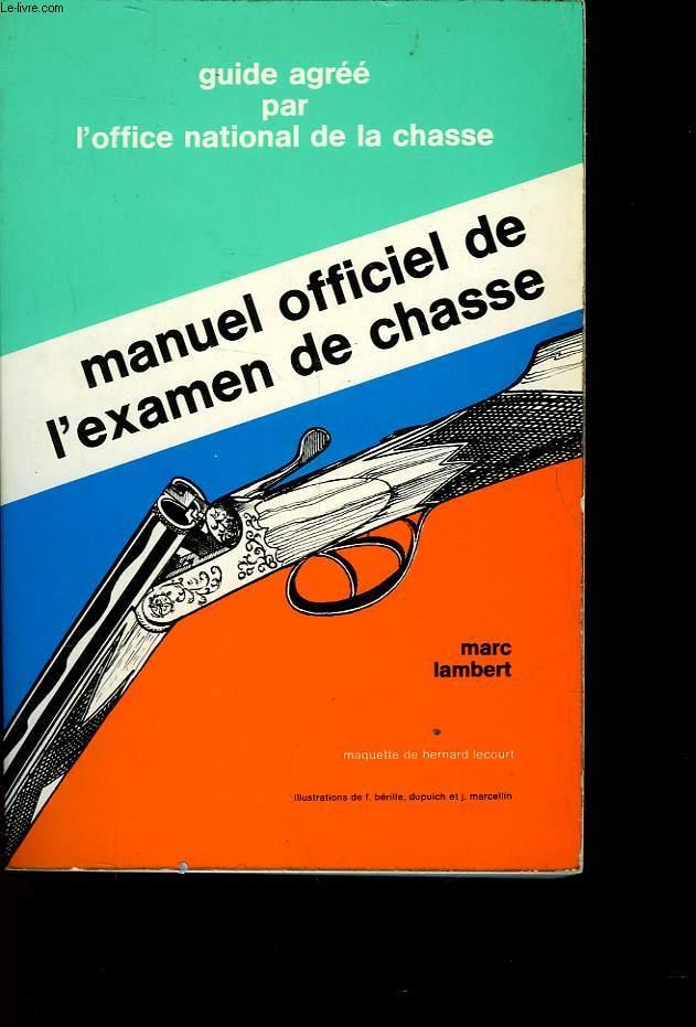MANUEL DE L'EXAMEN DE CLASSE