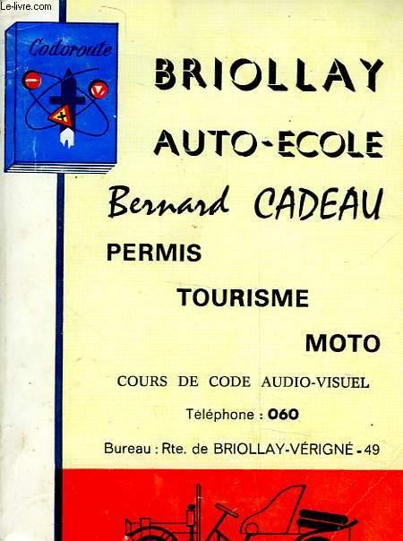 BRIOLLAY - AUTO-ECOLE
