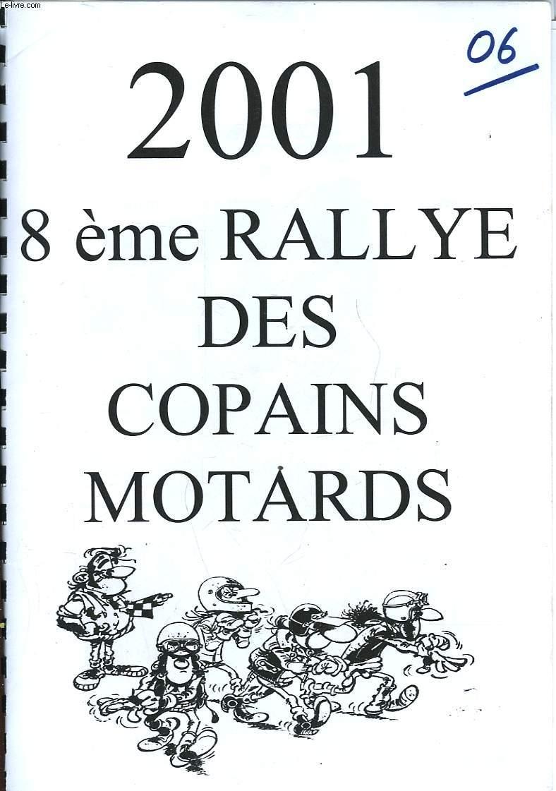 8° RALLYE DES COPAINS MOTARDS