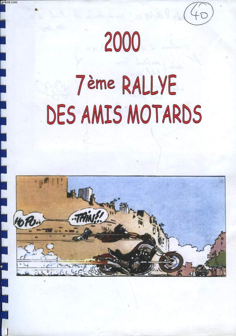 7° RALLYE DES AMIS MOTARDS