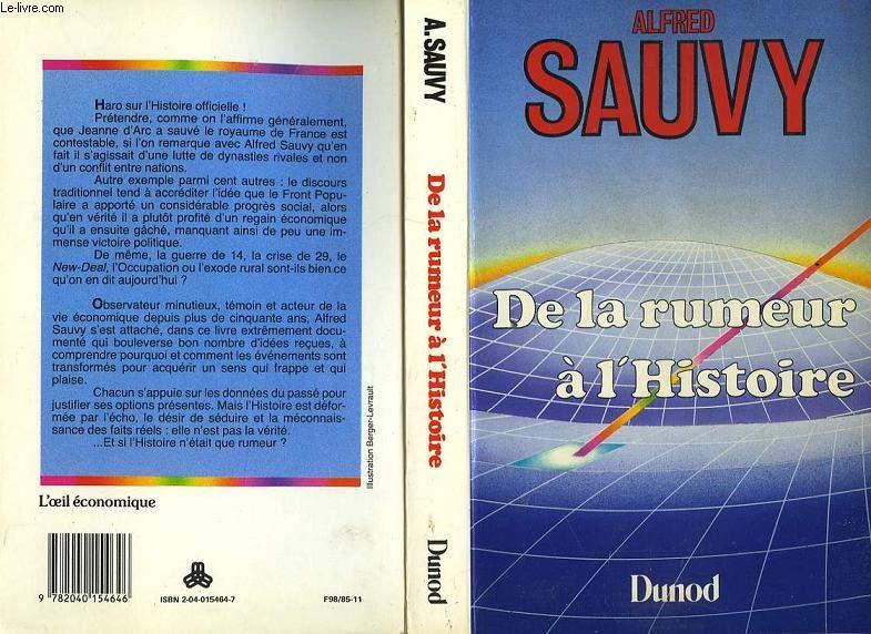 DE LA RUMEUR A L'HISTOIRE