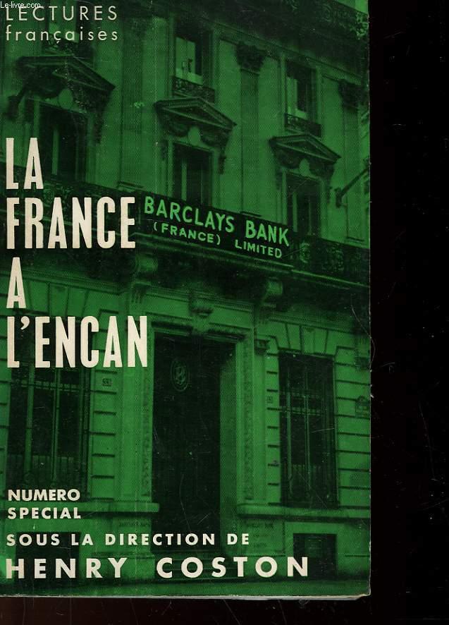 LA FRANCE A L'ENCAN