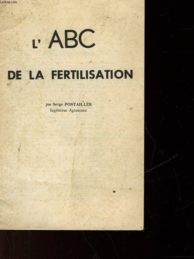 L'ABC DE LA FERTILISATION