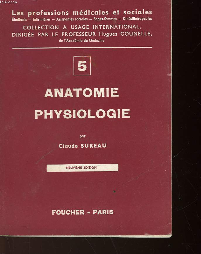 ANATOMIE PHYSIOLOGIE - 2° PARTIE