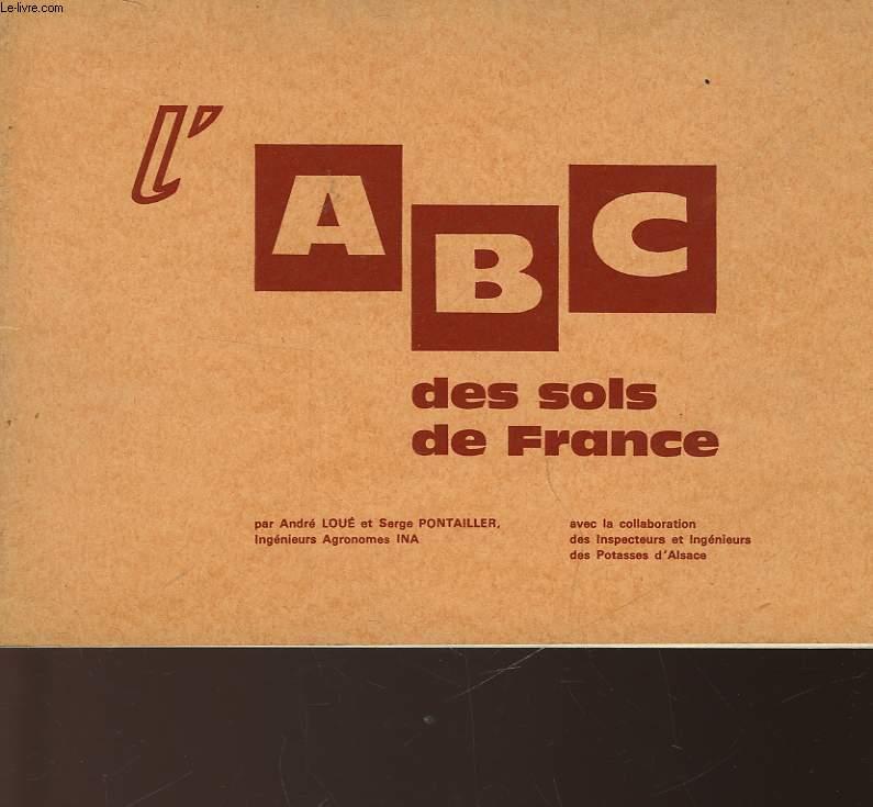 L'ABC DES SOLS DE FRANCE