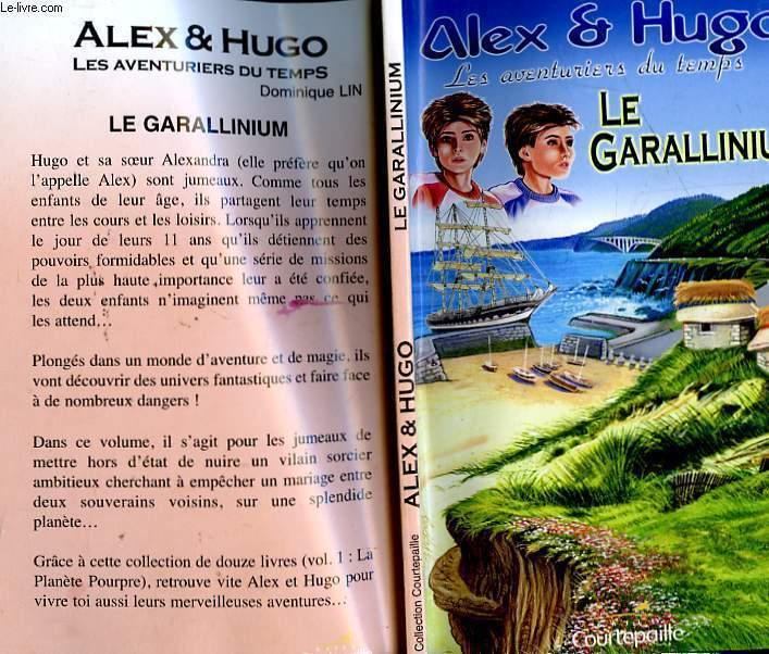 ALEX ET HUGO, AVENTURIERS DU TEMPS - LE GARALLINIUM