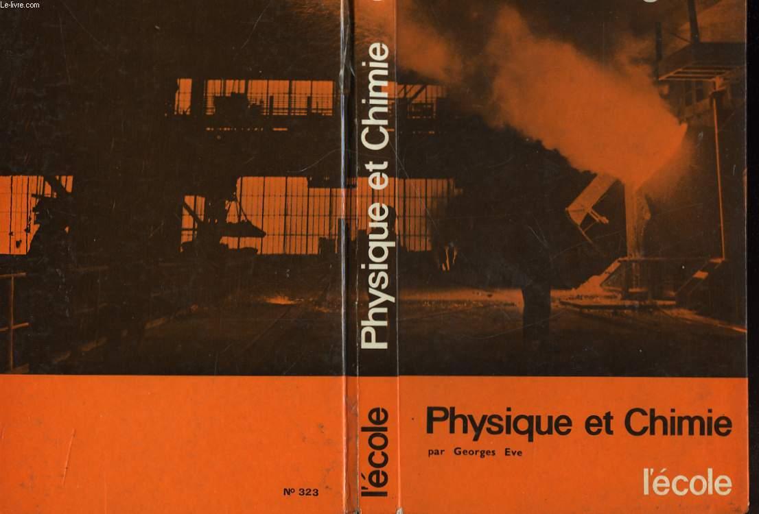 PHYSIQUE ET CHIMIE - COLLEGES D'ENSEIGNEMENT GENERAL COURT - CLASSE DE 3°
