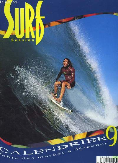 SURF SESSION - CALENDRIER 98