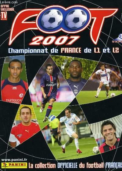 FOOT 2007 - CHAMPIONNAT DE FRANCE DE L1 ET L2