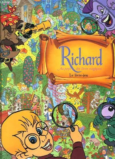 RICHARD AU PAYS DES LIVRES MAGIQUES - QUI EST A LA BIBLIOTHEQUE AVEC RICHARD?