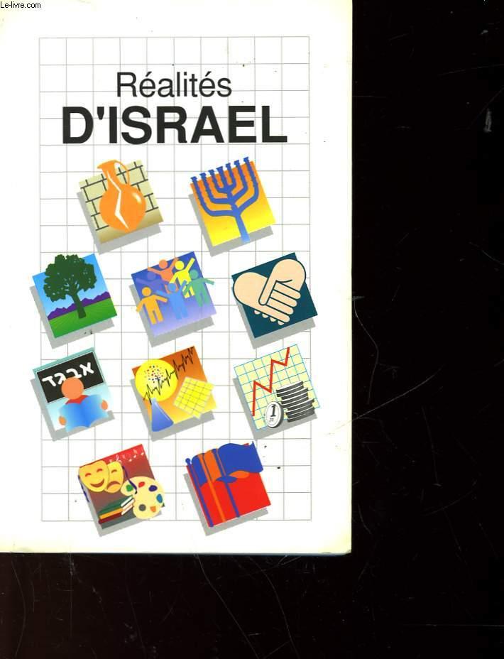 REALITES D'ISRAEL