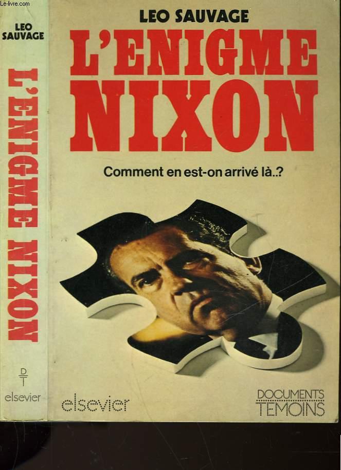 L'ENIGME NIXON
