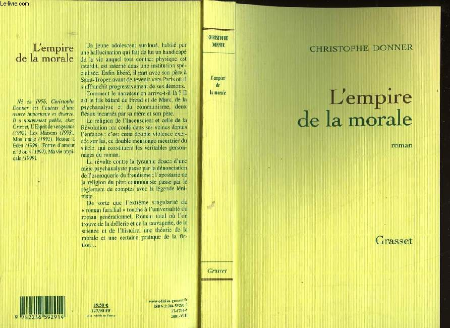 L'EMPIRE DE LA MORALE