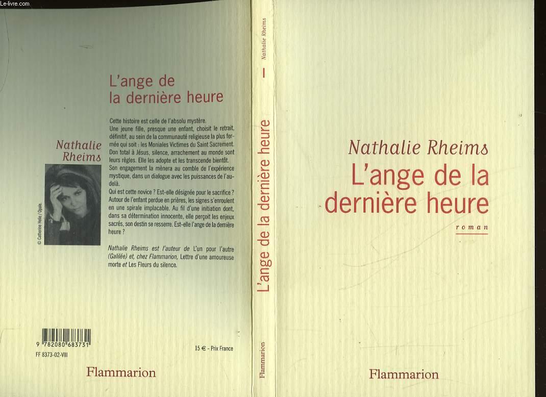 L'ANGE DE LA DERNIERE HEURE