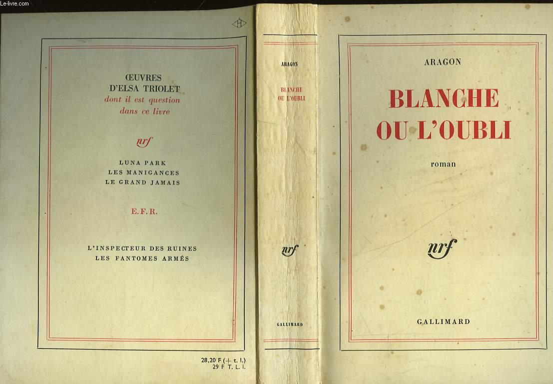 BLANCHE OU L'OUBLI