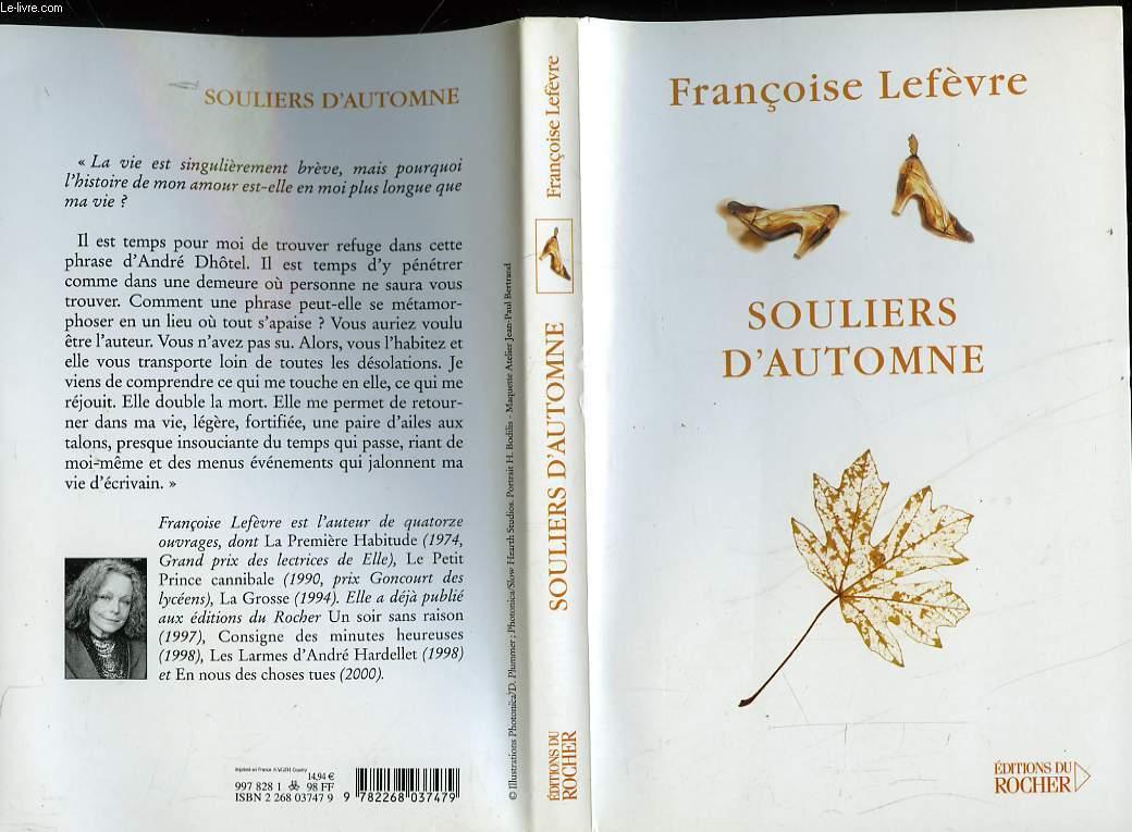 SOULIERS D'AUTOMNE