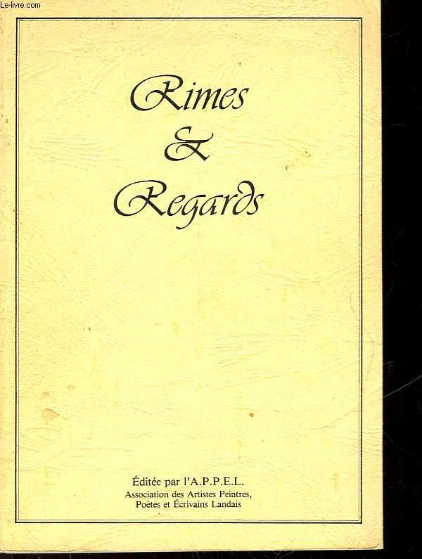 RIMES & REGARDS