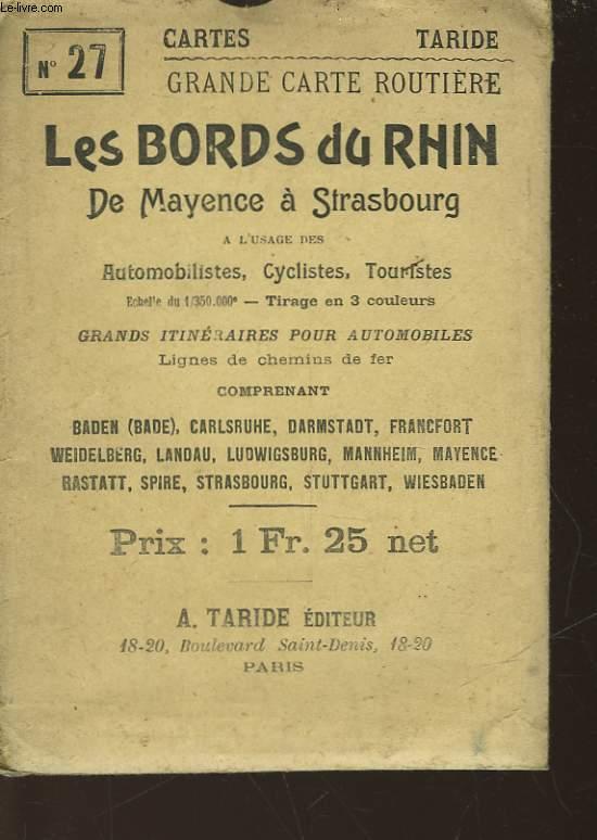 LES BORDS DU RHIN DE MAYENCE A STRASBOURG - N°27